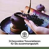 Image of Tee Adventskalender I Weihnachtskalender mit 24 aromatischen Teesorten I Geschenkset in der Weihnachtszeit Adventszeit I Auszeit für Teeliebhaber