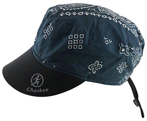 Chaskee Reversible Cap Cashmere mit Neoprenschild (Wendemütze, UV 80), Farbe:navy - Reversible Cap