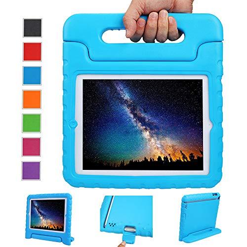 2/3 / 4 Eva Stoßfeste Schutzhülle Tragbar für Kinder mit Ständer Schutzhülle Standfunktion für iPad 2/3 / 4 Tablet,- Blau ()