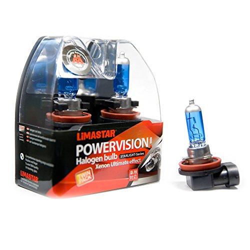 2 x H8 PGJ19-1 Birnen Auto Halogen Lampen 6000K 35W Xenon Glühbirnen 12V -