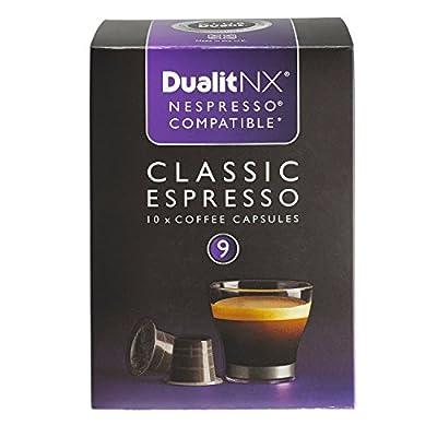 Dualit NX Classic Espresso Dark Coffee Pod Capsules x 10