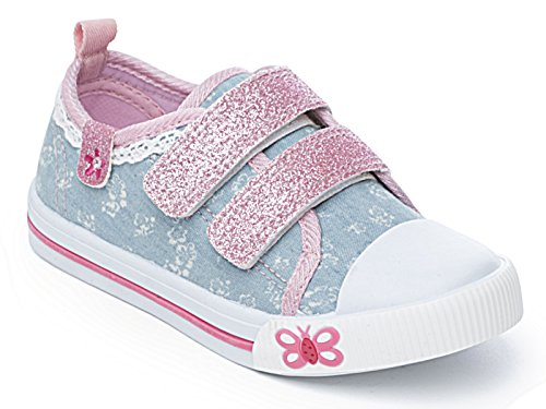 Foster Footwear , Baskets mode pour fille rose rose - rose - Kimberly Blue,