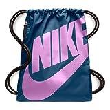 Nike Unisex-Erwachsene NK Heritage GMSK Turnbeutel, Blau (Blue Force/R.Fucsia)
