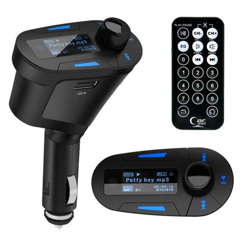 Kit inalámbrico para coche que incluye reproductor MP3, manos libres,
