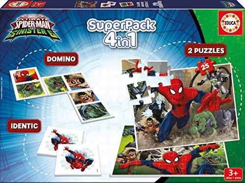 Spiderman- Juego de Mesa (Educa Borrás 17197)