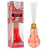 La Casa de los Aromas, Ambientador Mikado Bombilla Asiático, Flor de Cerezo, 150ml