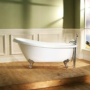 park royal freistehende badewanne mit f en 157 cm. Black Bedroom Furniture Sets. Home Design Ideas