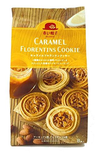 Preisvergleich Produktbild Acht X5 Taschen roten Hut Karamell Florentinern Cookies