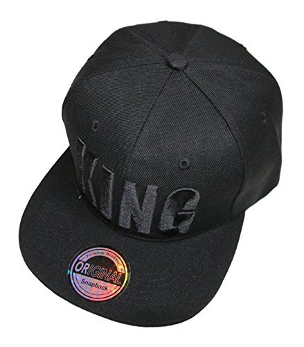 Premium Headwear Noir Snapback Cap