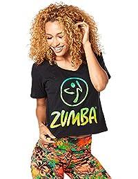 Zumba Fitness Z1t01241 T- T-Shirt Femme 3aa7affc338