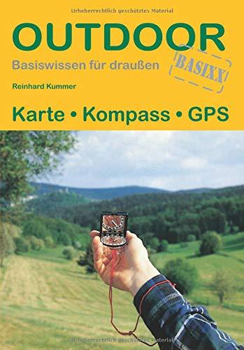 Karte Kompass GPS (Basiswissen für draußen)