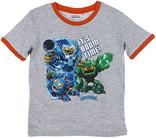 Skylanders Swap Force T-Shirt in Grau Gr. 128