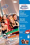 Avery Zweckform A4 Double Sided Photo Quality Glossy Inkjet Paper - 2570 180g Gloss White printing paper - Printing Paper (A4 (210x297 mm), Inkjet printing, Gloss, White, 180 g/m², FSC Mix Credit)