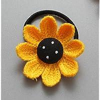 HSDDA Sunflower Cuerda de Pelo Multiusos Anillo de Pelo Accesorios para Mujer