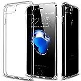 ESR Coque pour iPhone 7/8 Silicone, Housse Etui de Protection Bumper Premium [Anti Choc] [Ultra Fine][Ultra Léger] pour Apple iPhone 7 (2016)/ 8 (2017) 4,7 Pouces (Série Jelly Plus, Transparent)