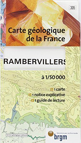Carte géologique : Rambervillers