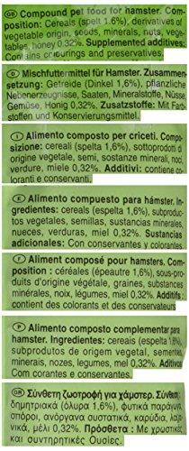 Vitakraft Kracker Hamster Small Animal Food Honey-Spelt, Pack of 5 1