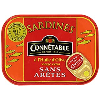 Connétable - Sans Arêtes Sardines - 115g