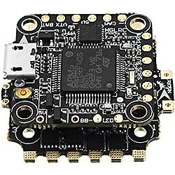 LaDicha 6.5 G 20X20Mm Hglrc Xjb F428 Micro F4 Aio Osd Bec Controlador De Vuelo & 28A Blhel_S Bb2 2-4S 4 En 1 Esc