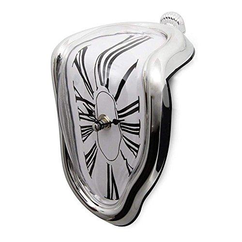 Unbekannt Die Fusion Wanduhr an Das Parlament der Retro-Stil Twisted senkrecht Silent Clock Clocks Personalized Bücherregal (Standard-bücherregal)