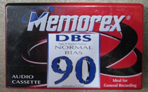 memorex-dbs-iec-i-type-i-normal-bias-90-audio-cassette-tape-great-for-general-recording-best-used-wi