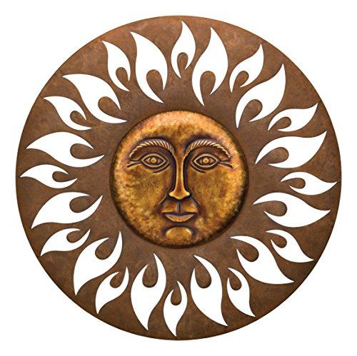 Regal Art & Geschenk 11595Aurora Sun Dekorative Wand Art, 73,7cm
