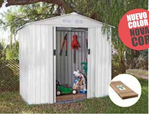 Catral Garden CASETA METÁLICA Tools Ibiza High Door, Blanco