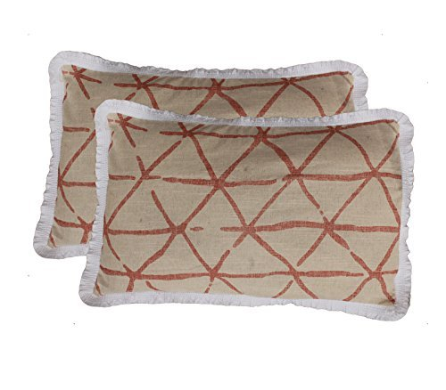 RR Creations Cotton 2 Piece Pillow Covers Set - 18