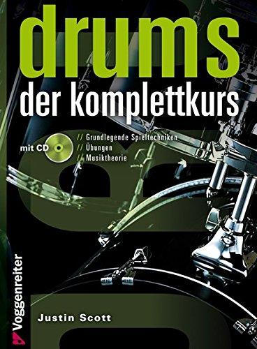 Drums - Der Komplettkurs (Ringbindung im Hardcover mit CD)