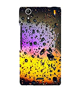 Light through Rain drenched Window 3D Hard Polycarbonate Designer Back Case Cover for Micromax Canvas Selfie 2 Q340