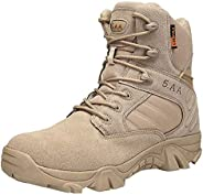 Men Wear-Resisting Non-Slip Outdoor Climbing Hiking Boots Combat Military Boots