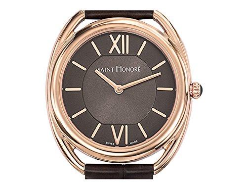 Saint Honoré Womens Analogue Quartz Watch with Leather Strap 7210228GIR