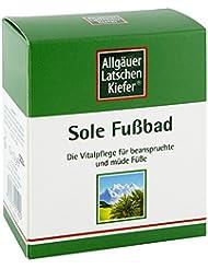 Allgäuer Latschenk. Sole Fussbad 10X10 g