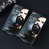 Xuba uomo crema colorante per barba e baffi Fast color crema barba nera tinta naturale con 1paio di guanti usa e getta