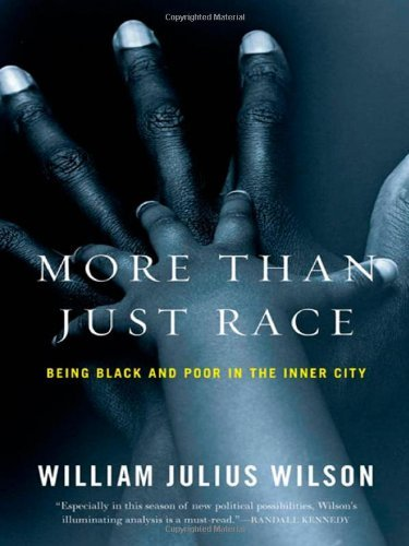 More Than Just Race: Being Black and Poor in the Inner City (Issues of Our Time) by William Wilson (2009-03-13)