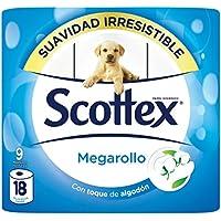 Scottex Megarollo Papel Higiénico - 9 Rollos