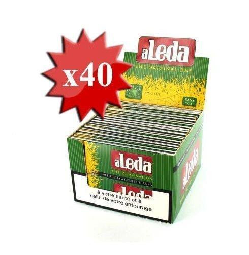 King Size aLeda trasparente ance 1 Box (40 x 40)