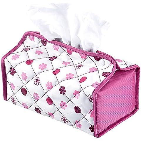 Moda tejido fresco cajas para vehículos/ Toalla de papel impermeable de tela Oxford-A
