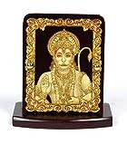 #7: Eknoor Car Dashboard Idol- Super Carving - hanuman ji with japa mala (prayer beads)