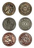 LARP-Münzen Magie - Währung Spielgeld von Battle-Merchant Ausführung ohne Beutel