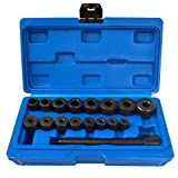 AB Tools-US Pro 17pc Universal Clutch Fly Wheel Aligning Car Van Alignment Remover Install AT494