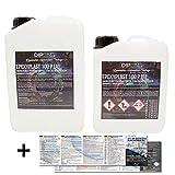 3 kg epoxyhars 2K epoxyPlast 100P hout glashelder lamineerhars giethars epoxy voor GFK-tafel vloer Terra Aquarium vormenbouw UV-stabiel