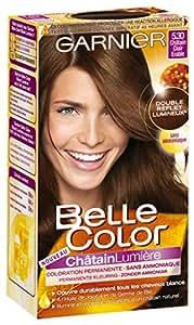Garnier - Belle Color - Coloration N°5.30 Châtain Lumière Clair Erable - Lot de 2