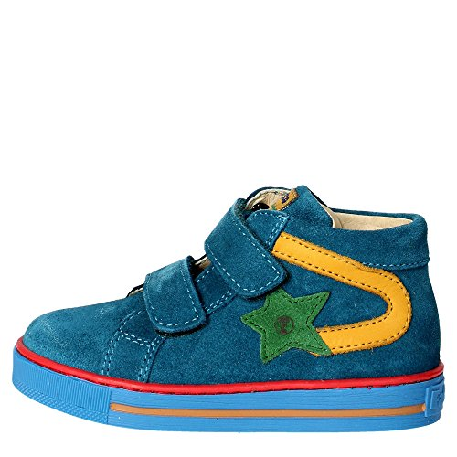 Falcotto ALF VELCRO VELOUR Sneakers Boy Seegrün