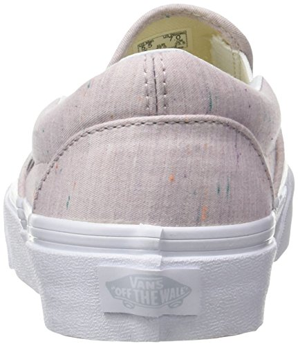 Vans Damen Ua Classic Slip-On Sneakers Pink (Speckle Jersey Pink/true White)