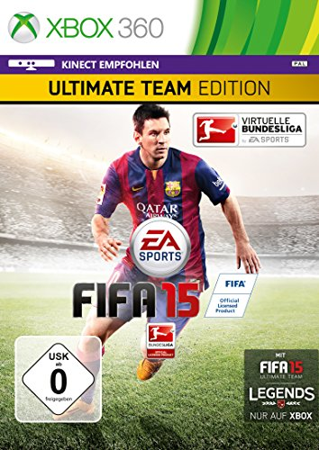 eam Edition mit Steelbook (Exklusiv bei Amazon.de) - [Xbox 360] (Spiel Fifa 15 Xbox 360)