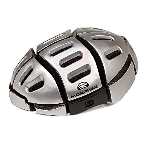 Morpher Plegable casco Plata