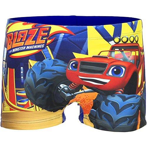 Blaze the monster machines boxer mare/piscina blu 8 anni