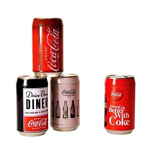 Preisvergleich Produktbild Coca-Cola Spardose - Coke Retro Sparbüchse Cola Getränkedose Sparschwein Retro