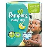 Pampers - Baby-Dry - 5+ Junior Plus - 22 in Pack
